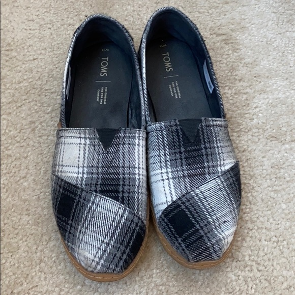 Toms Shoes | Womens Black And White